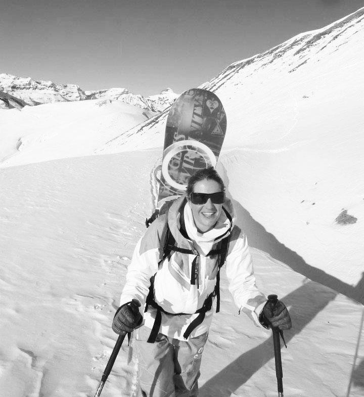 paulinebyoga-snowboard-chamonix